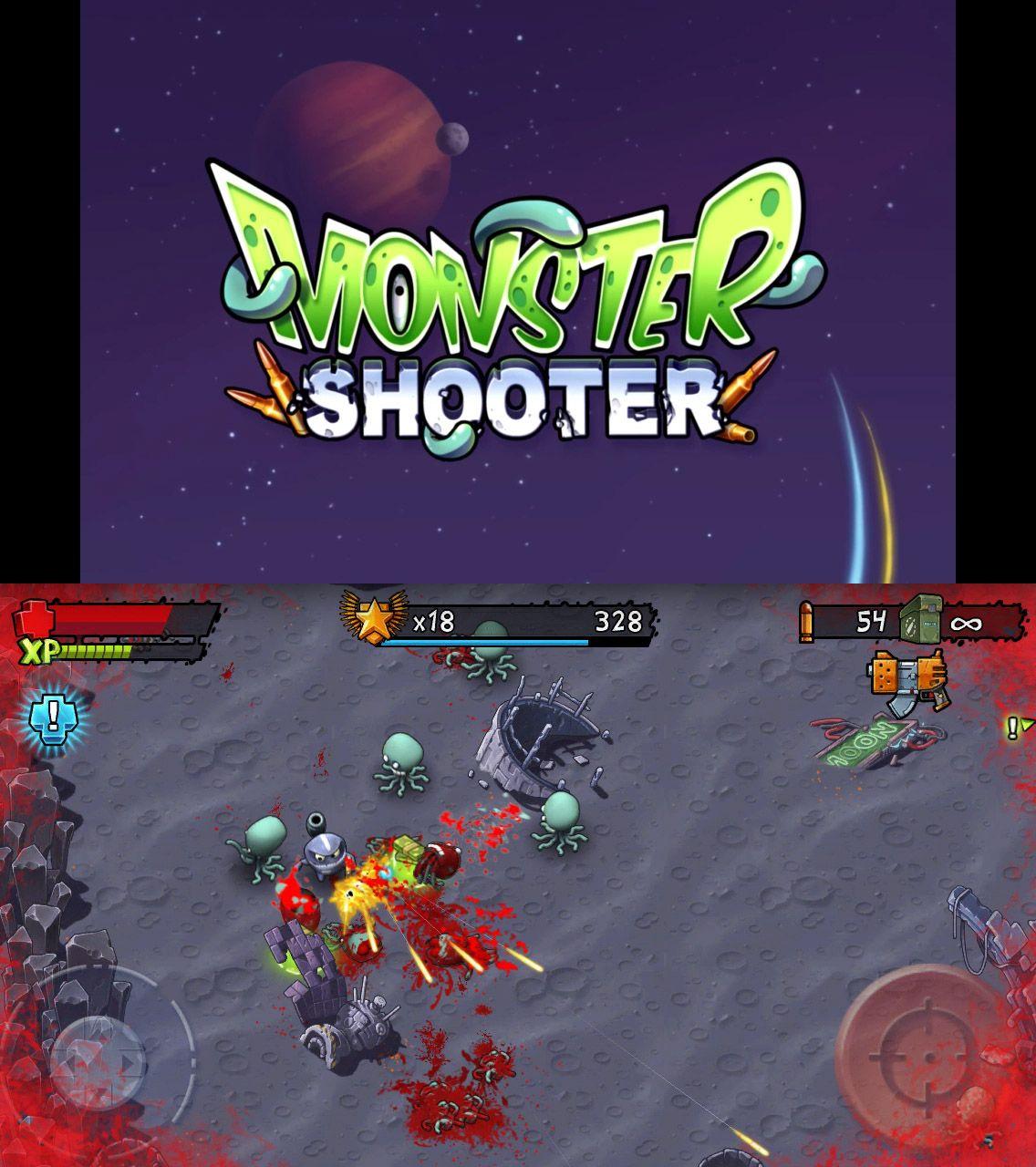 iOS Apps / monstershooter