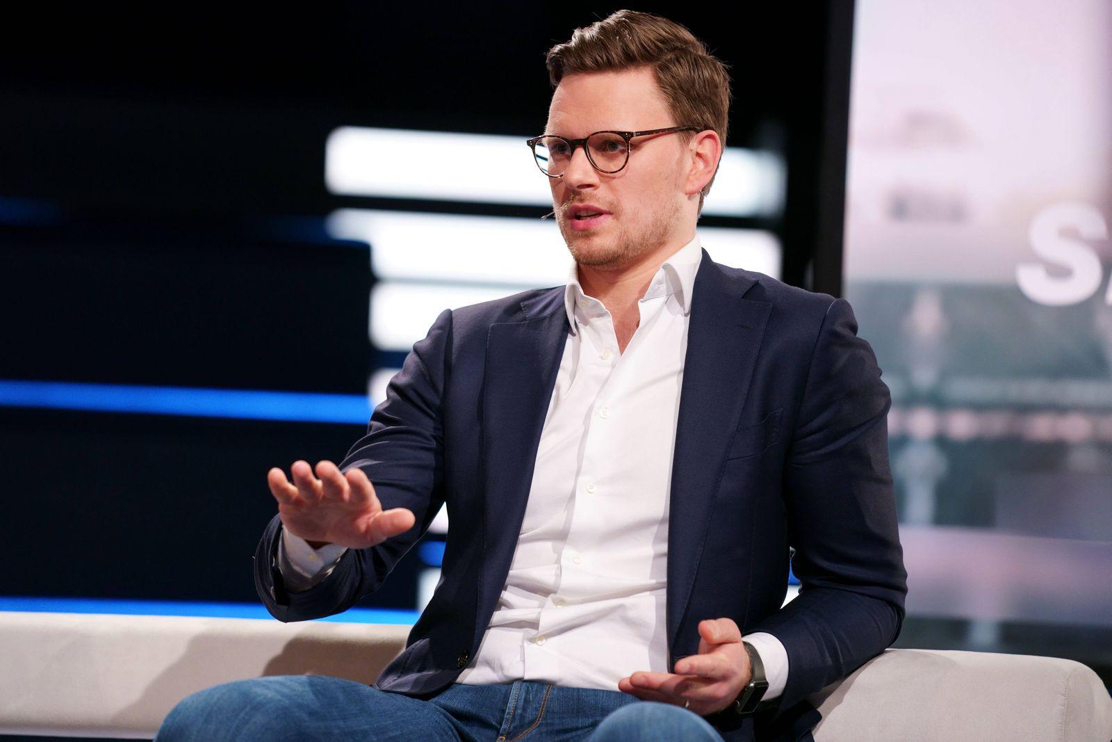 JONAS BAER-HOFFMANN DAS AKTUELLE SPORTSTUDIO ZDF MAINZ PUBLICATIONxNOTxINxUSA