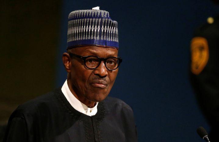 Muhammadu Buhari, Präsident Nigerias