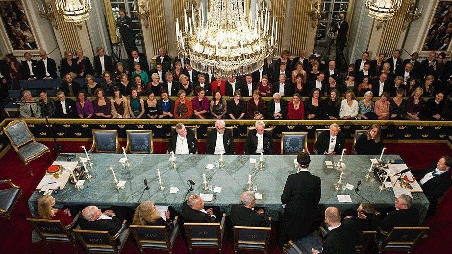 Festakt der Schwedischen Akademie 2011 Klub ohne lästige Kontrolle