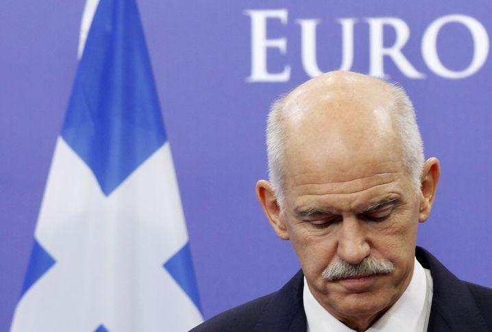Griechischer Politiker Papandreou (2011)
