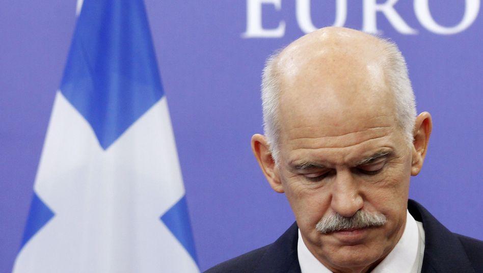 Georgios Papandreou im Jahr 2011, damals war er Ministerpräsident