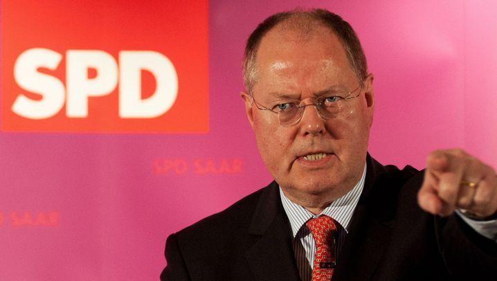 SPD-Politiker Steinbrück: Der Kandidat