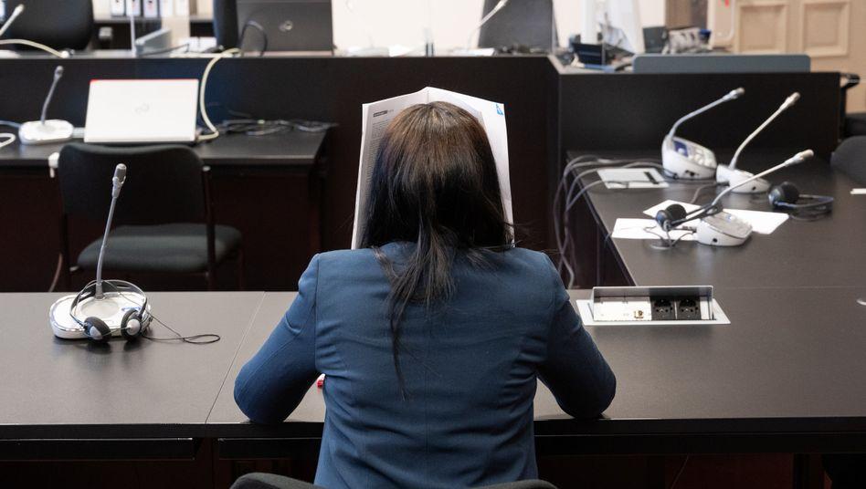 """Omaima A. vor Gericht (Archiv): Unter Tränen bat sie um eine """"gerechte Strafe"""""""