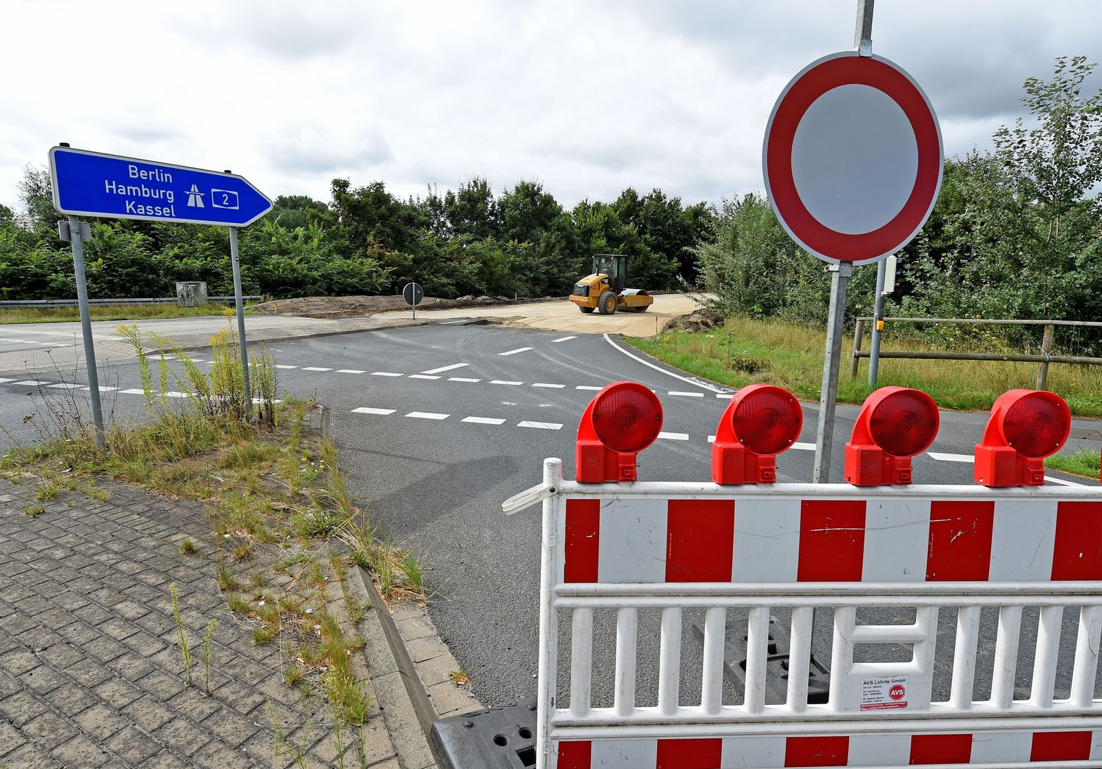 Autobahn-Sperrung wegen Bombenverdacht an der BAB 2