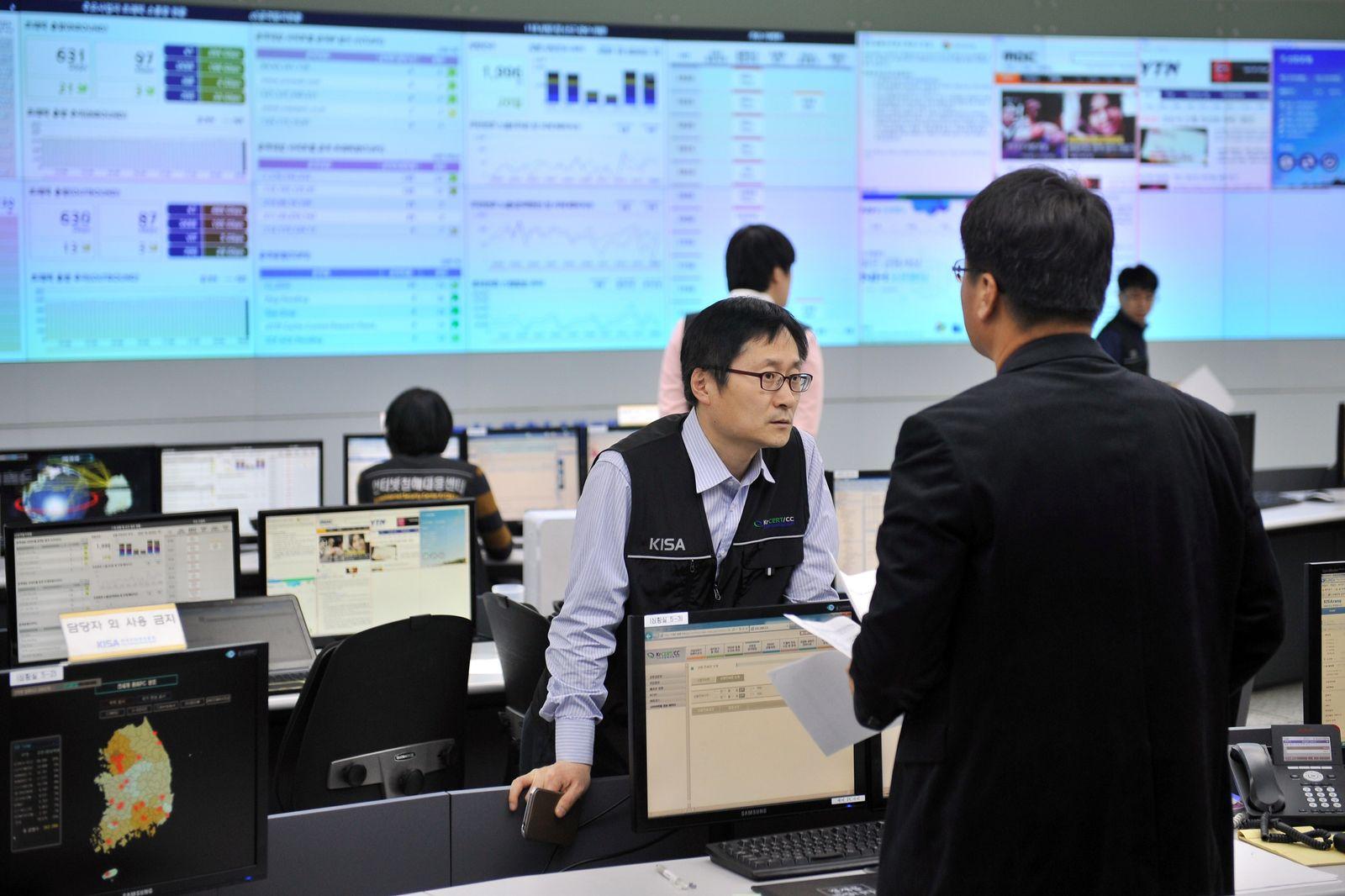Südkorea Hacker