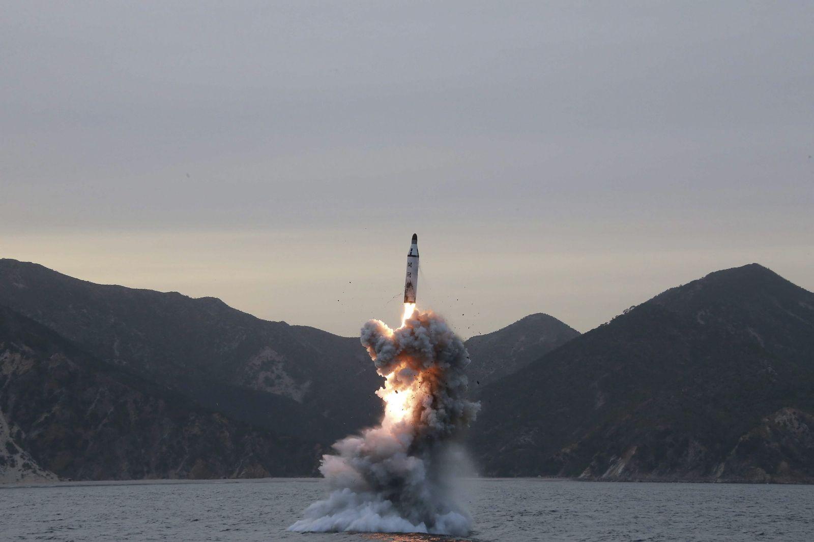 U-Boot-Raktete Nordkorea