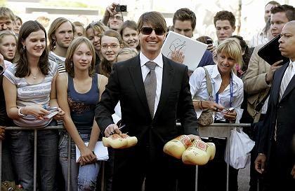 Schauspieler Cruise (am 28. Juni auf der Kino-Expo in Holland): Unbeliebt in Berlin