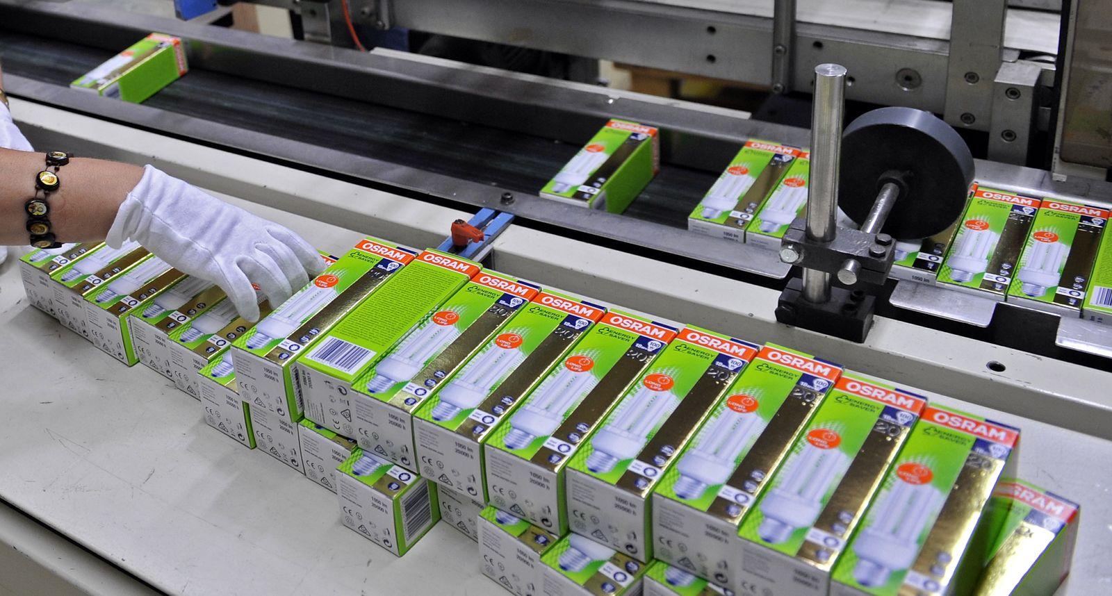 NICHT VERWENDEN Unternehmen/Siemens/Osram