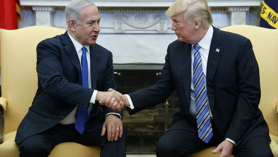 Benjamin Netanyahu (links) und Donald Trump