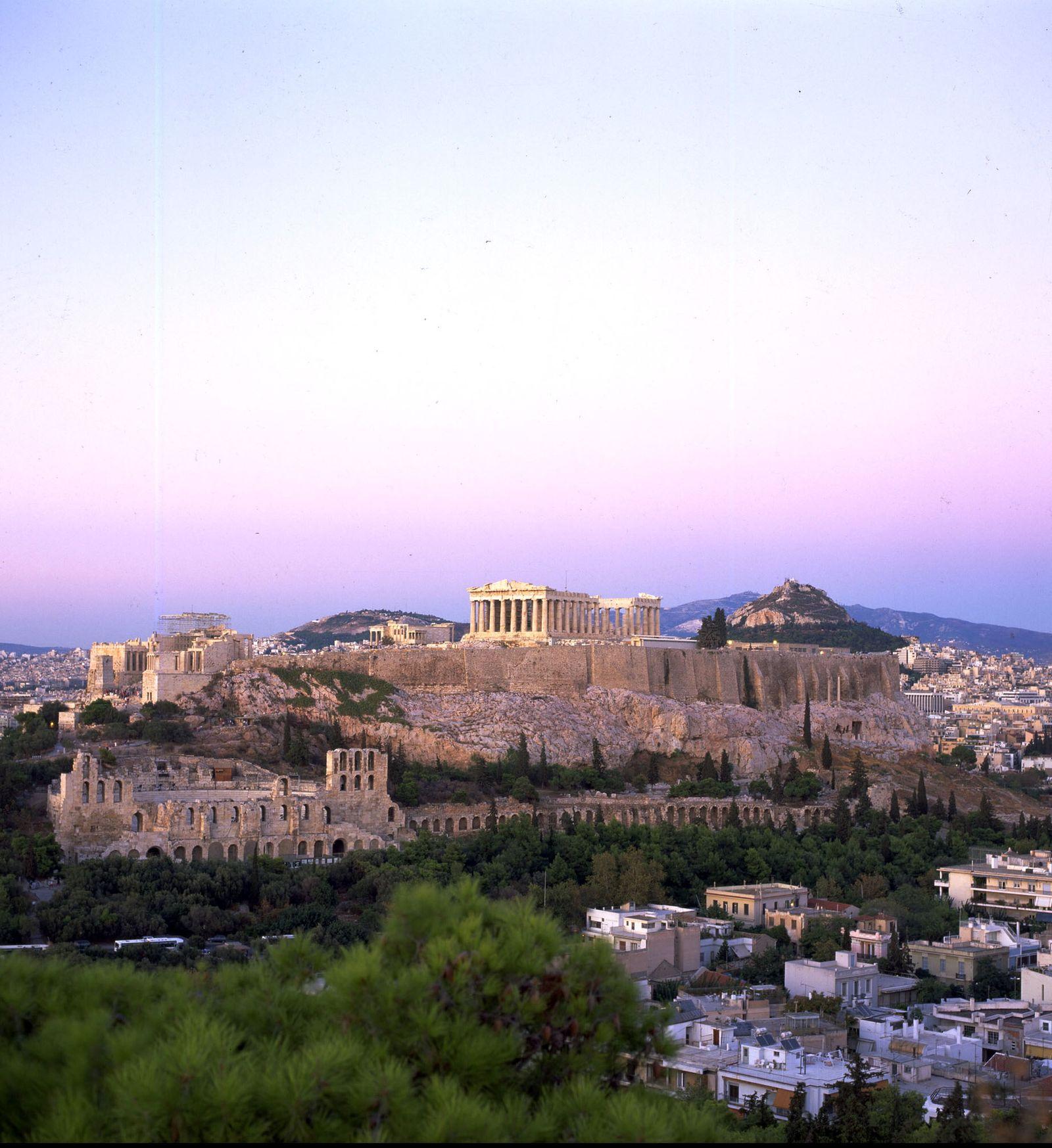 NICHT VERWENDEN Thema mmO: Greichenlands Wirtschaft / Akropolis / Athen / Griechenland