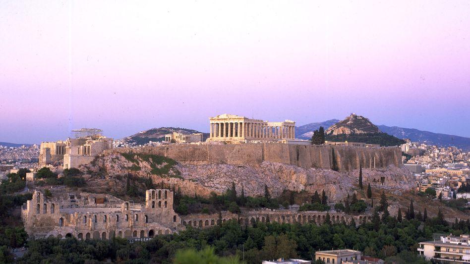 Griechische Hauptstadt Athen: Im Vorort Chalandri soll es einen Anschlag gegeben haben