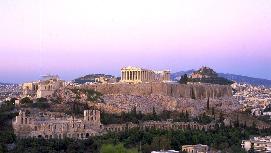 Blick auf die Akropolis: Details bis zum nächsten Finanzministertreffen