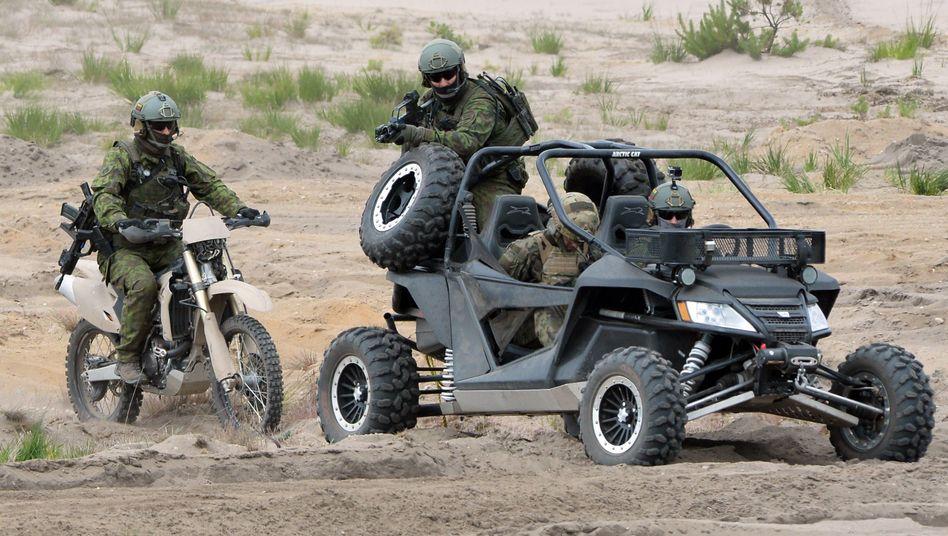 Nato-Übung in Polen: Im Ernstfall schnell vor Ort