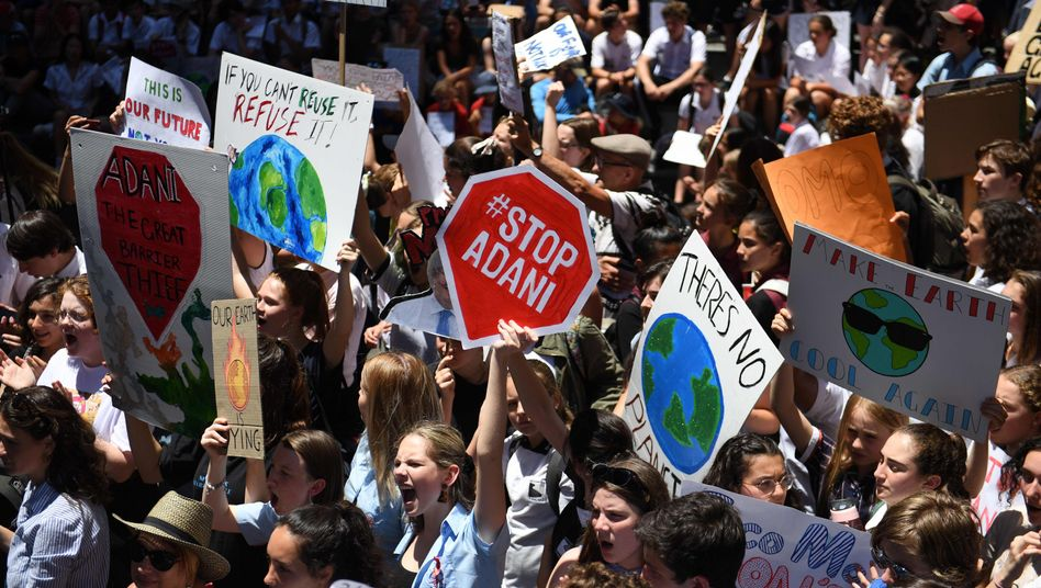 """Klima-Demonstration in Sydney (Archivbild): """"Es gibt keinen Planet B"""""""