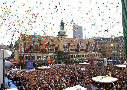 Die deutsche Bewerberstadt für die Olympischen Spiele 2012 heißt Leipzig