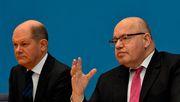 Scholz und Altmaier über neue Corona-Hilfen für Unternehmen