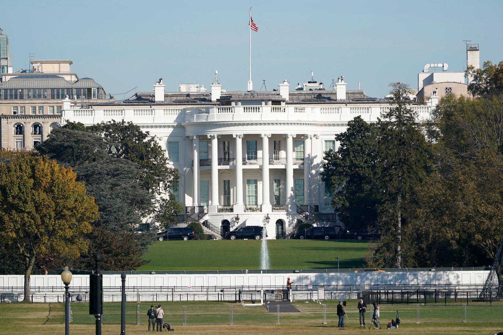 Präsidentschaftswahlen in den USA - Weißes Haus