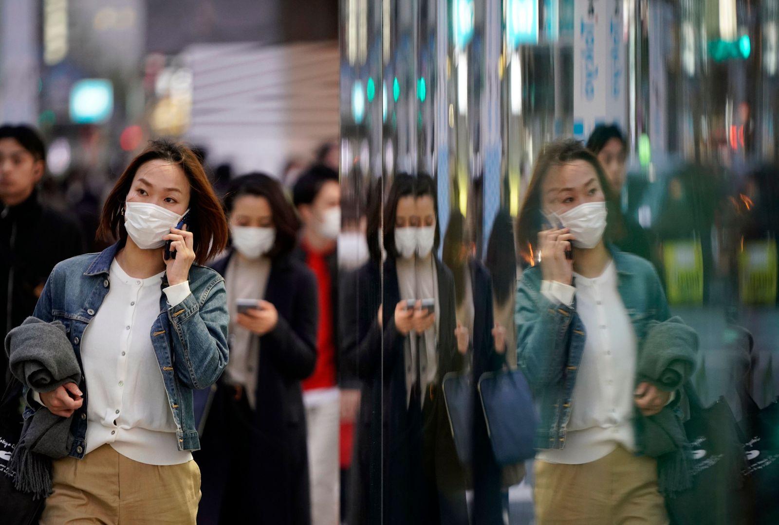 Coronavirus pandemic in Japan, Tokyo - 27 Mar 2020
