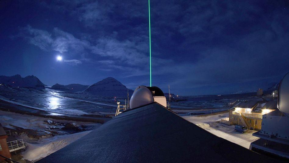Forschungsstation AWIPEV auf Spitzbergen (Archivbild)