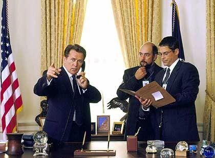"""Schauspieler Sheen als fiktiver US-Präsident Bartlet: """"Genug des Schockzustands"""""""