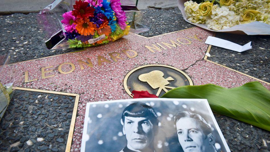 Walk of Fame: Nimoy und Shatner gingen ihn gemeinsam