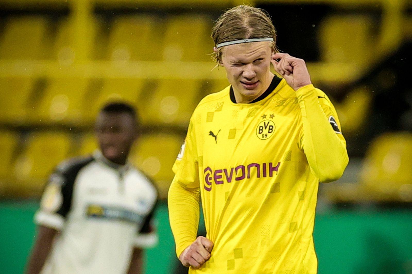 Borussia Dortmund vs SC Paderborn 07, Germany - 02 Feb 2021
