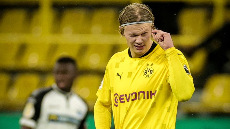 Erling Haaland erzielte den entscheidenden Dortmunder Treffer