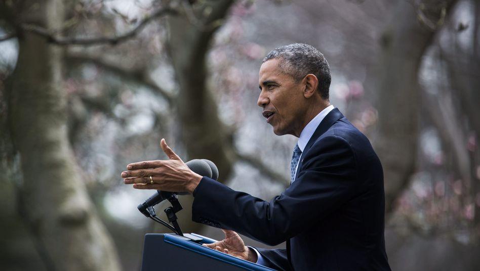 """Barack Obama: """"Historische Einigung"""""""
