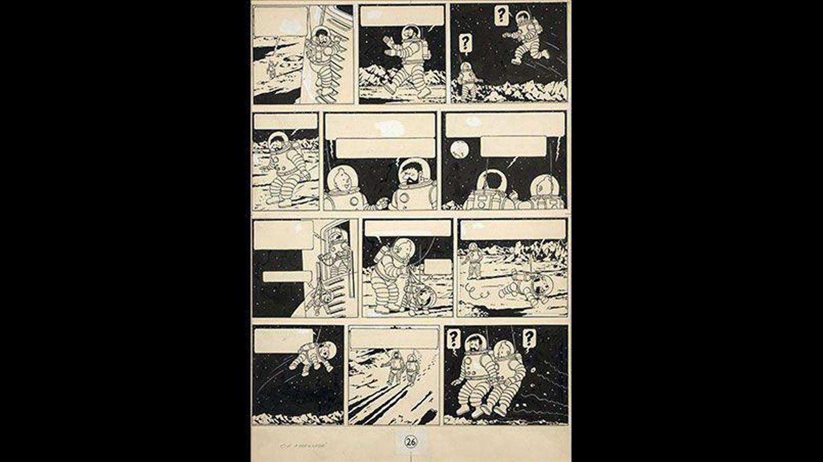 France Auction Tintin