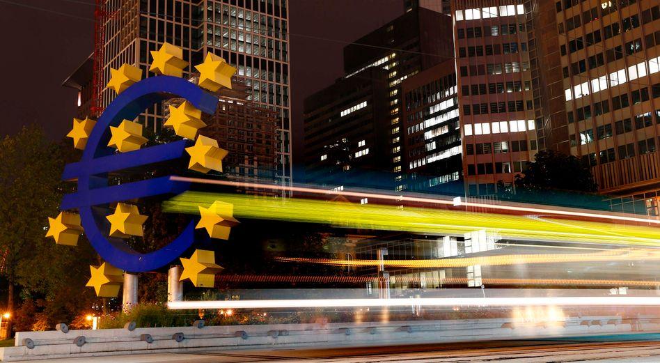European Central Bank headquarters in Frankfurt.