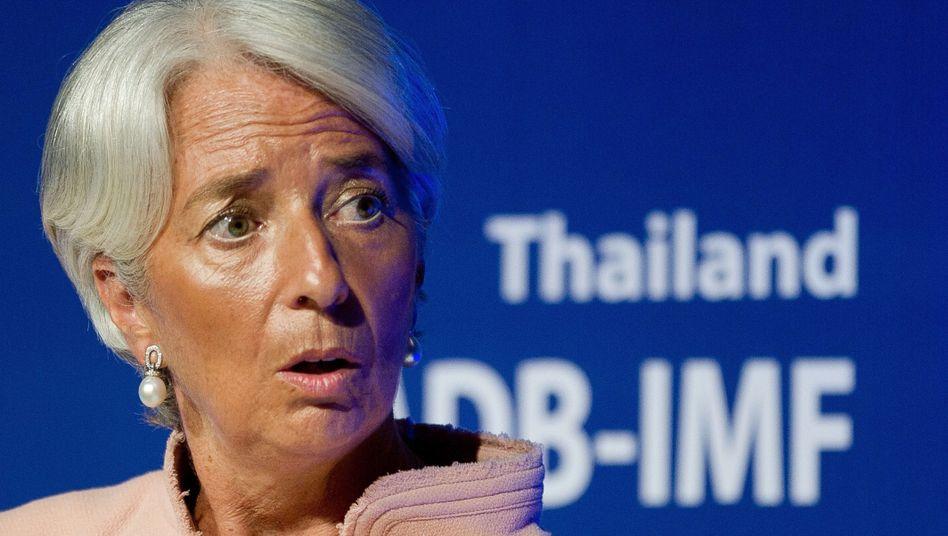"""IWF-Chefin Lagarde (am 12. Juli in Thailand): """"Ungerechter Auswahlprozess"""""""