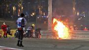 Feuerunfall beim Rennen in Bahrain
