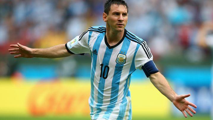 Messi glänzt für Argentinien: Warmgeschossen