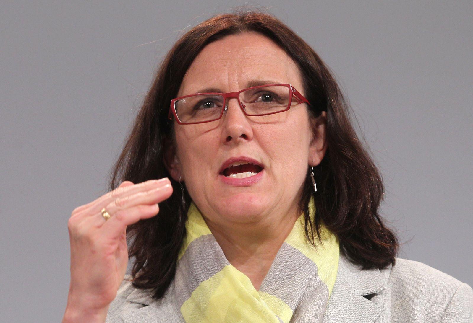 Belgium EU Human Trafficking Malmström