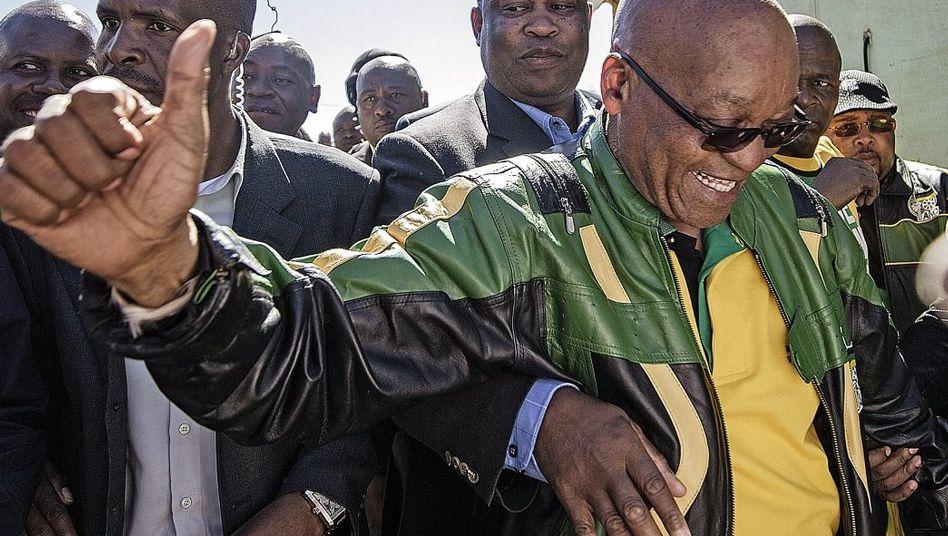 Präsident Zuma