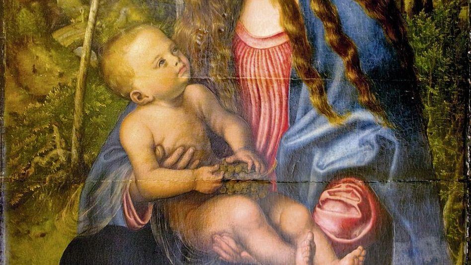 """Cranach-Bild »Madonna unter den Tannen"""": Wundersame Reise"""