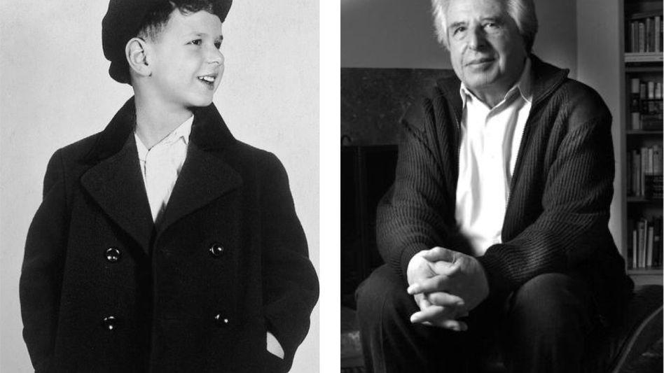Autor Friedländer als Kind in Prag 1938, in seinem Haus in Beverly Hills 2005 Dass diese Mutation dramatische Spuren in der Psyche eines Heranwachsenden hinterlassen musste, liegt nahe