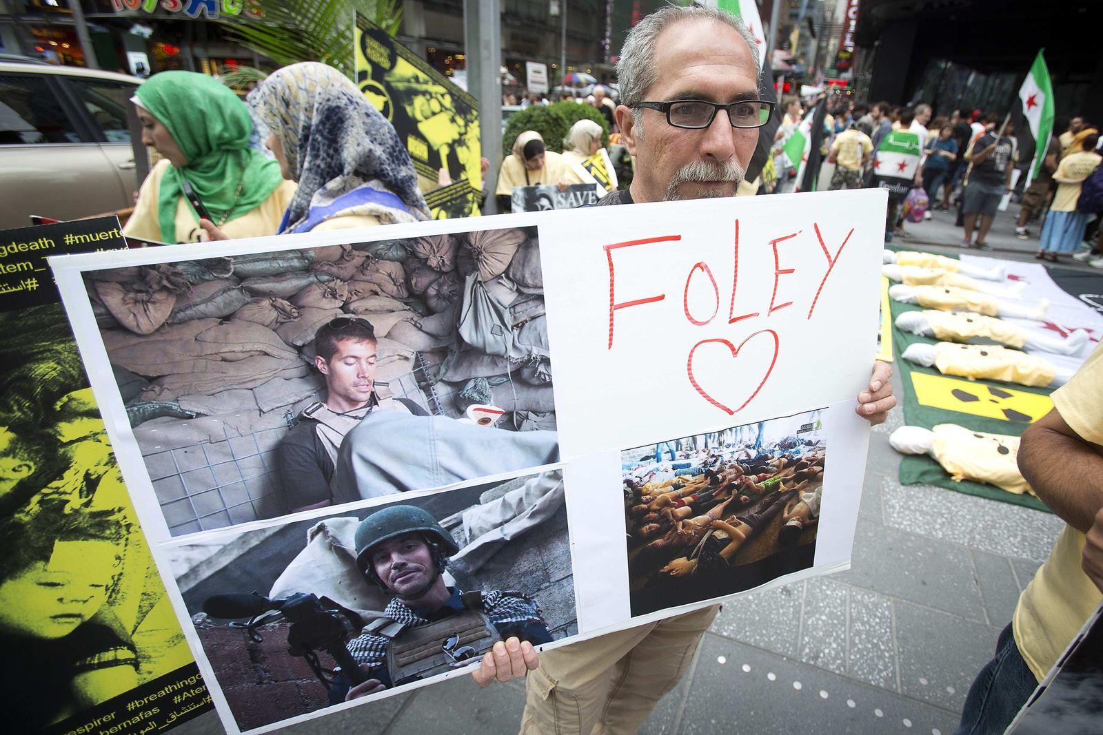 James Foley/ Protest
