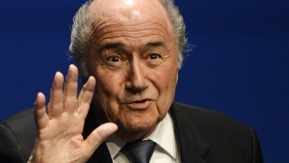 """Joseph Blatter: """"Ich erfreue mich guter Gesundheit"""""""