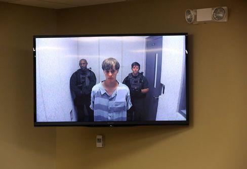 Der Verdächtige Dylann R.: Anhörung per Videokonferenz