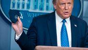 Trumps Corona-Infektion sorgt für Flut an Falschmeldungen