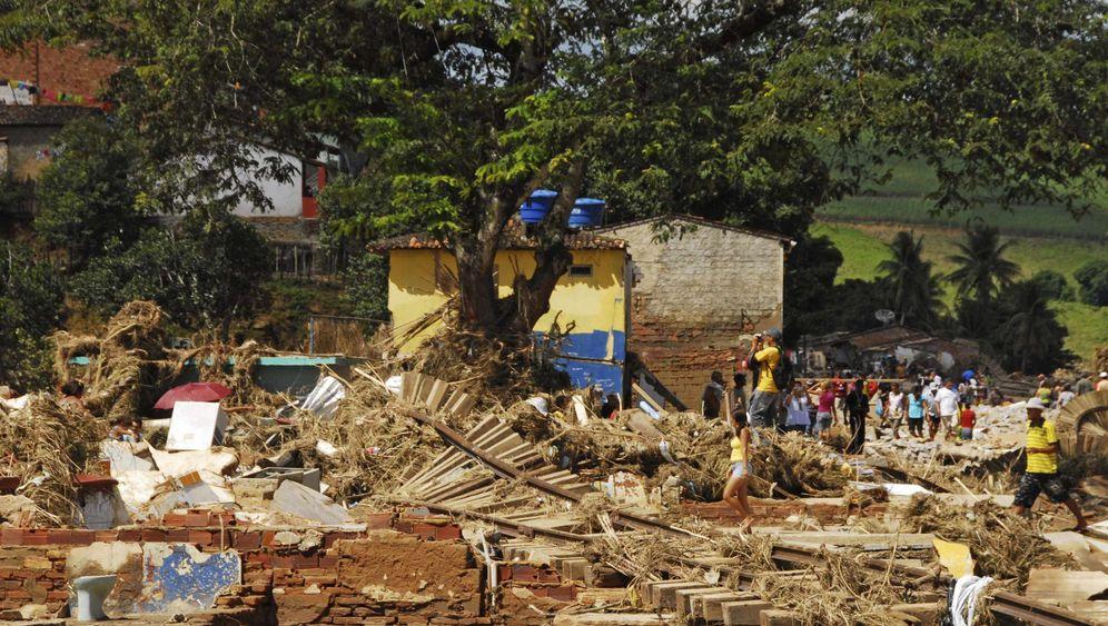 Nach Überschwemmungen in Brasilien: Dutzende Tote, Hunderte vermisst