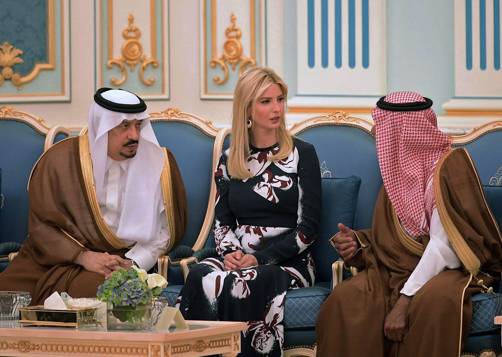 Ivanka Trump Riad Scheichs