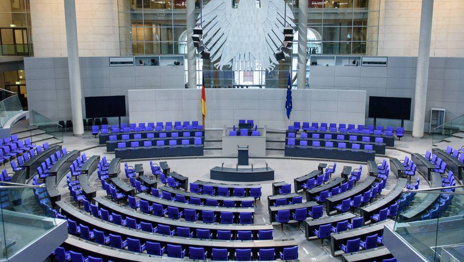 Führt die geplante Wahlrechtsreform zu einem kleineren Bundestag? Die Opposition bezweifelt das.