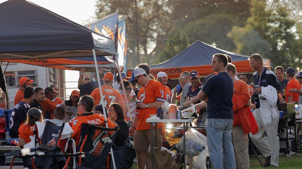 NFL-Tradition: Die Parkplatz-Partys