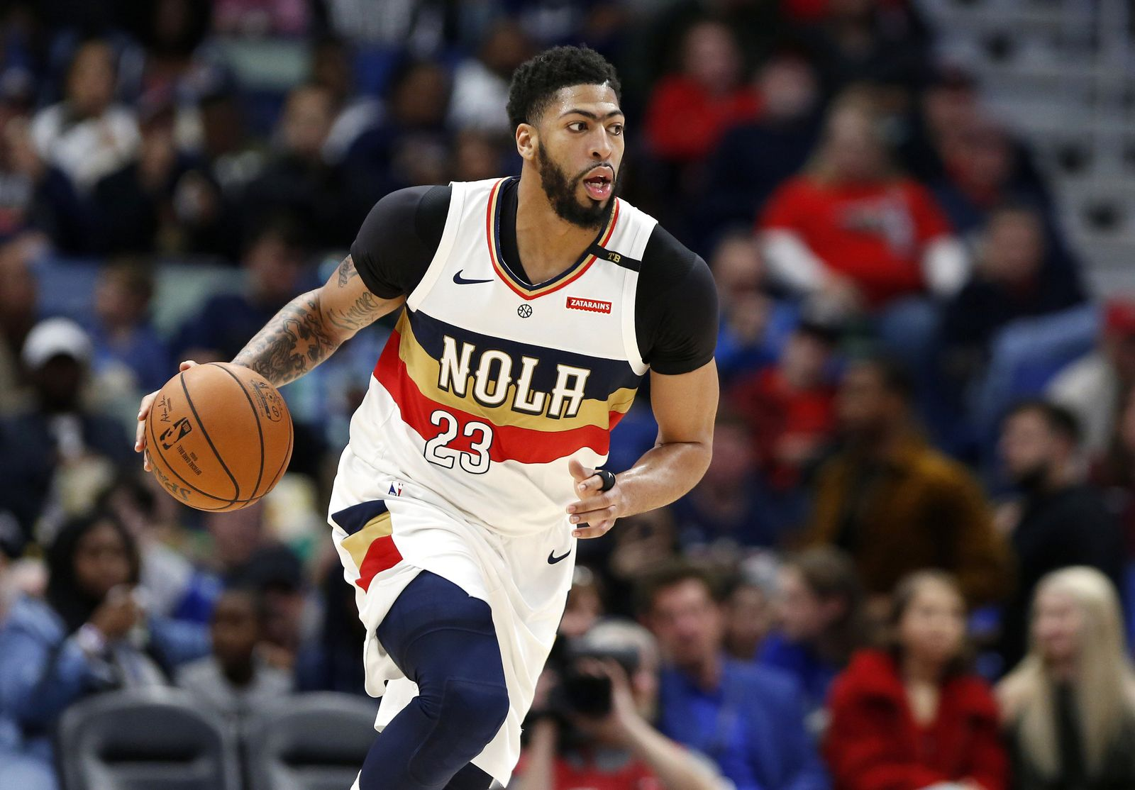 Lakers Pelicans Trade Basketball