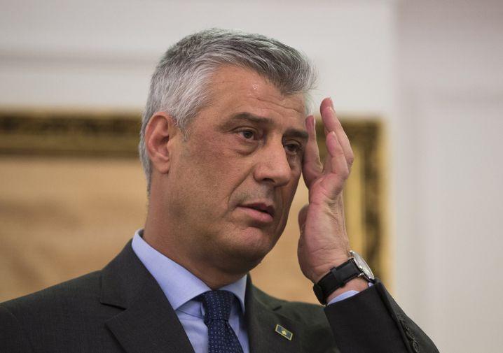 Koalitionspartner und ehemaliger UCK-Kamerad: Haradinaj-Konkurrent Hashim Thaci
