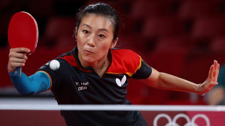Han Ying an der Platte: Die deutschen Tischtennis-Frauen verpassten Bronze