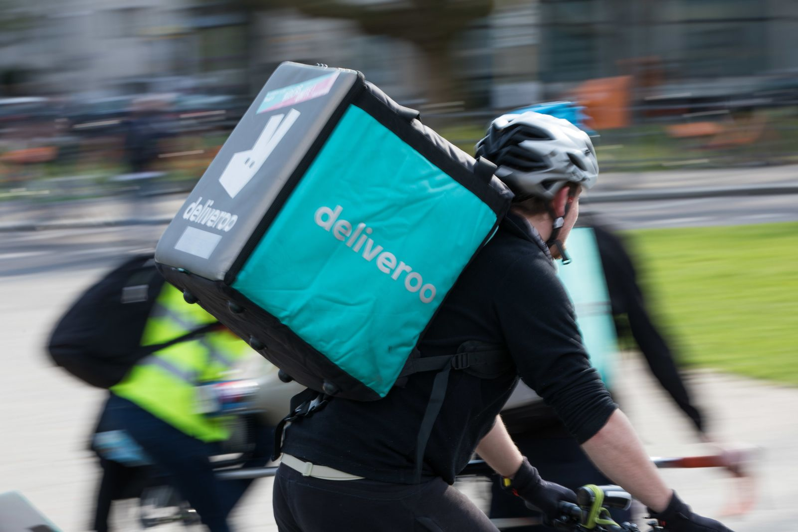 Essenslieferdienst «Deliveroo»